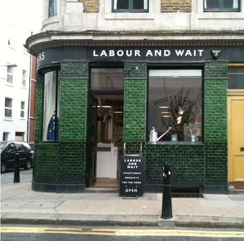 Shopper's Diary: Labour and Wait Opens in Shoreditch. Ground zero for Downton accessories.