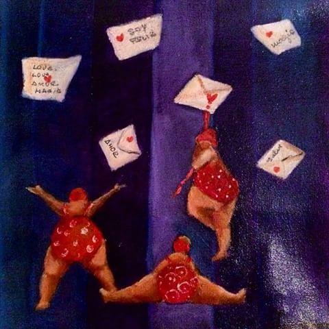 #CristinaTrovatoArte  #carredartistes #art #pintura - cristinatrovato_arte