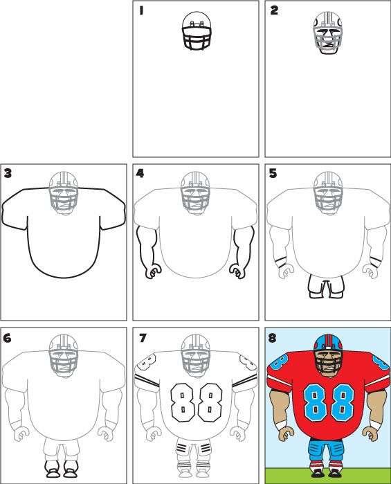 Best 25 Football player drawing ideas on Pinterest  Converse