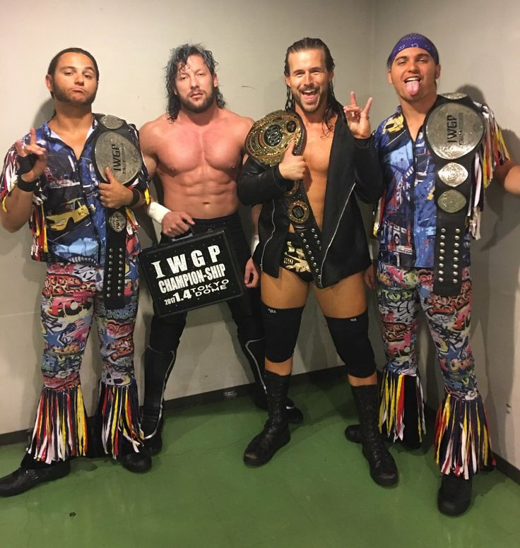 The Young Bucks, Omega & Cole - The Bullet Club