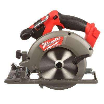 M18 FUEL 18-Volt Lithium-Ion Brushless 6-1/2 in. Cordless Circular Saw (Bare Tool)