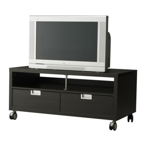 Meuble t l besta jagra ikea my stuff pinterest ikea tv tvs and wheels - Meuble tele blanc ikea ...