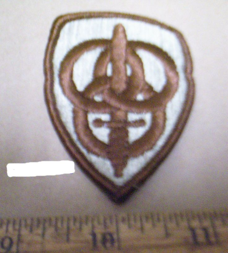 US Army - 3rd Personnel Command Desert Embroidered Patch (NOS)