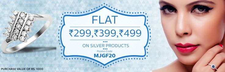 ManglamJewelllers clearance sale - Flat 20% discount on all diamond earrings with minimum cart value of Rs.1000
