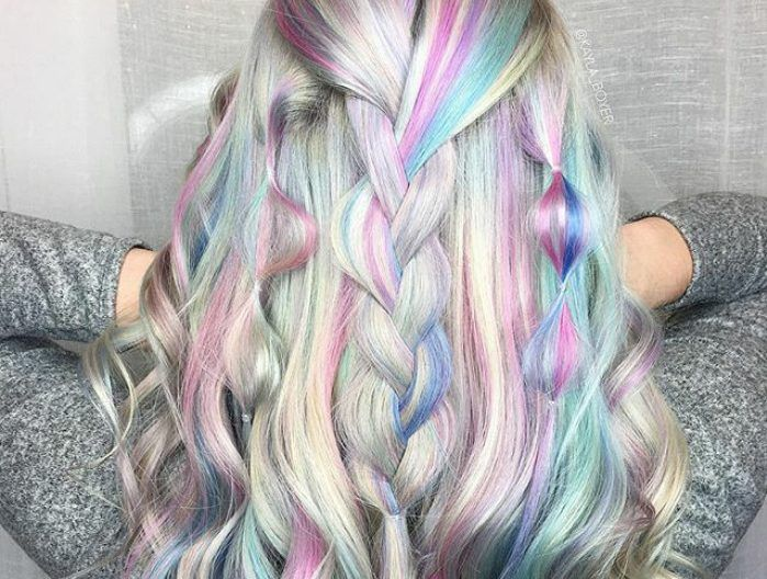 It's the era of limitless hair colors: From unicorn hair to rainbow hair comes another trend that you'd immediately want to check off your hair bucket lit – holographic hair. Holographic hair uses multiple layer colors to give off a dreamy and magical holographic effect.