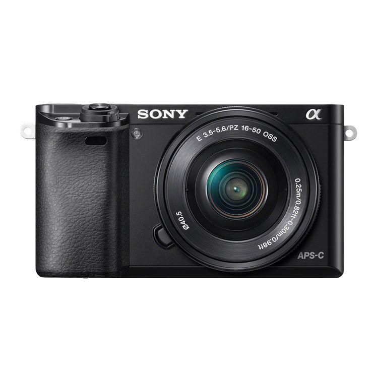 Câmera de montagem em E a6000 com sensor APS-C   Sony Store Brasil - Sony
