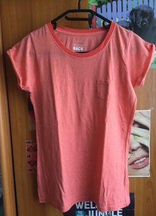 Kupuj mé předměty na #vinted http://www.vinted.cz/damske-obleceni/tricka/15828819-lososove-baby-pink-tricko-zn-atmosphere
