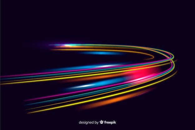 Trails Speed Lights Display Background Premium Vector Freepik Vector Background Abstract Technology Line Geometric Background Light Display Abstract