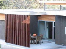 木製ルーバー,ベランダ