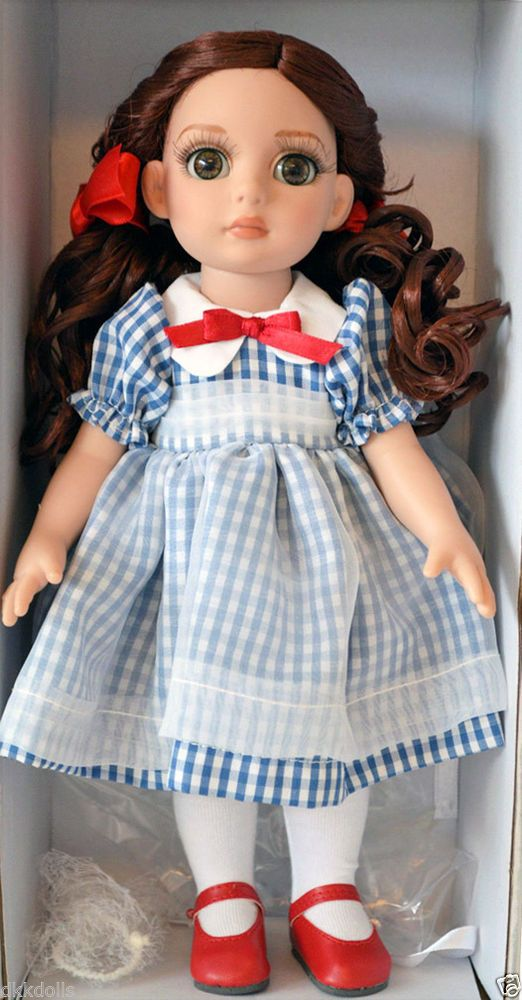 Effanbee 10 In. Little Country Girl Patsy Doll, 2013 Tonner Design is offered for sale in a 5 day Ebay auction.