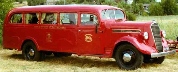1938 Studebaker Bus