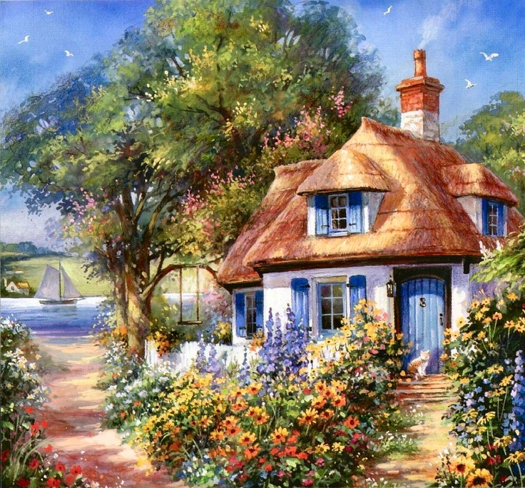 Bradley Bungalow on Tranquil Bay by Jim Mitchell