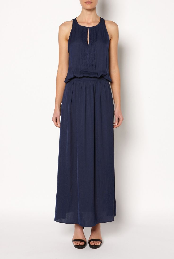 Pleat front maxi Dress - Dresses - Her - Witchery