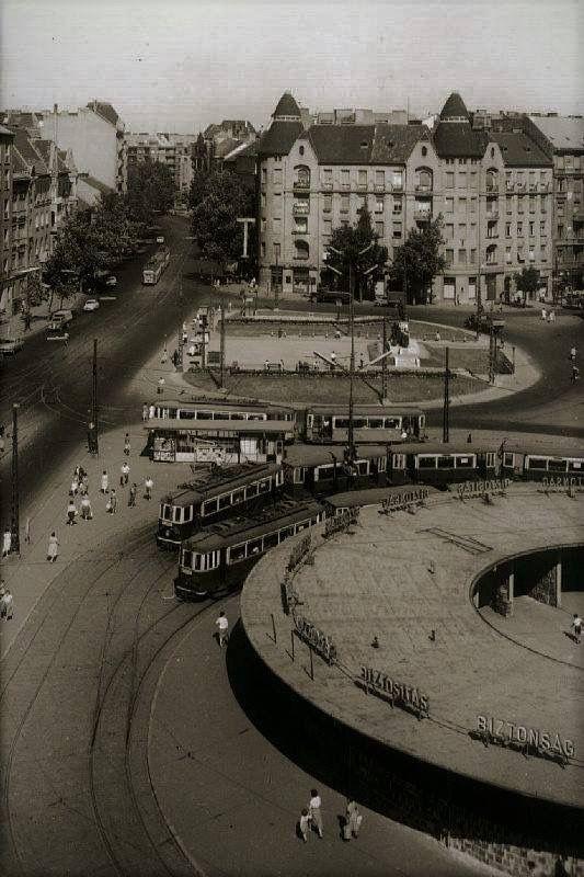 Móricz Zsigmon körtér - 1960 eleje