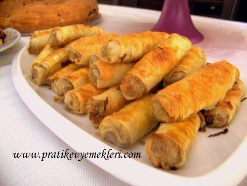 Yeşil Mercimekli Börek | Yeşil Mercimekli Börek tarifi | Yeşil Mercimekli Börek yapılışı | Pratik Ev Yemekleri