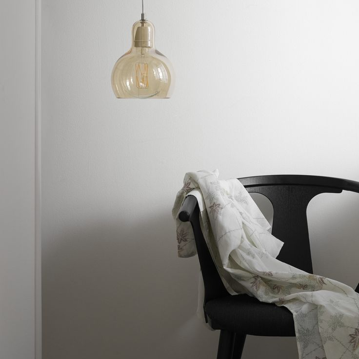 In Between chair by Sami Kallio and Mega Bulb pendant by Sofie Refer both for &tradition.