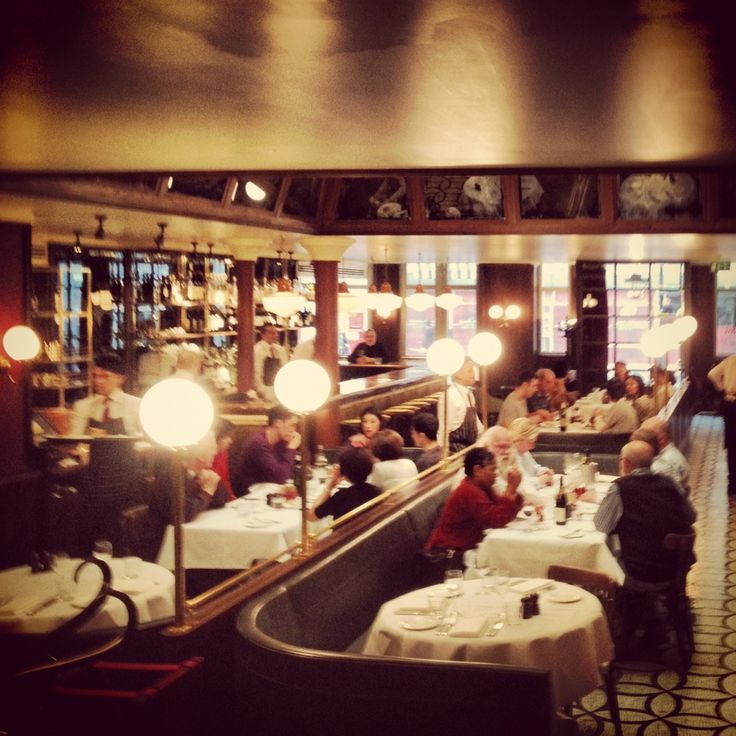 View from back corner at Les Deux Salons