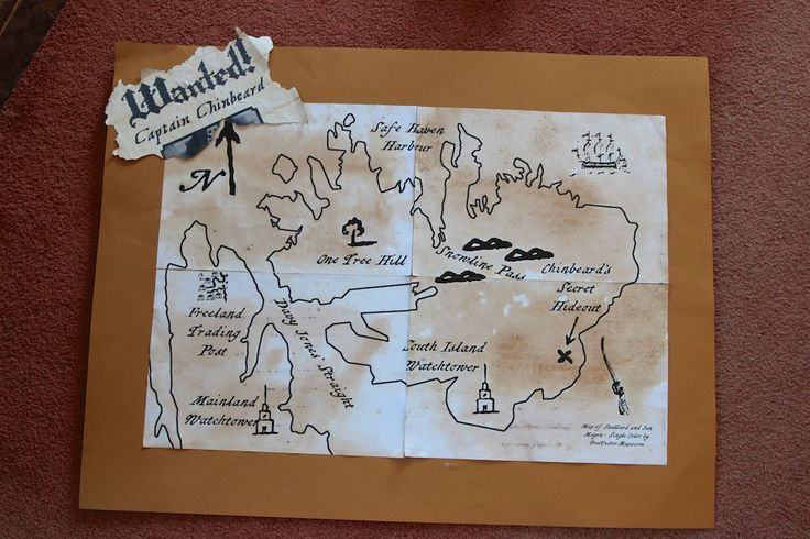 Treasure Map in four pieces. Each piece was given as a prize in the challenges. The Island shape is 'Map of Svalbard and Jan Mayen - Single Color by FreeVectorMaps.com' https://www.freevectormaps.com/svalbard-and-jan-mayen/SJ-EPS-01-0001?ref=more_map