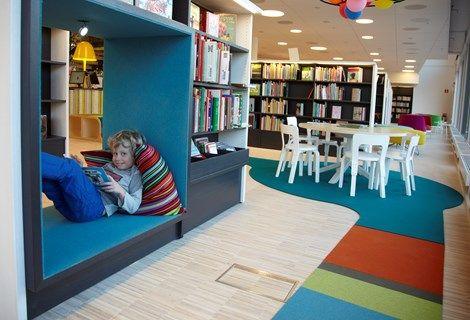 vallentuna bibliotek_7, opklæbning af filt