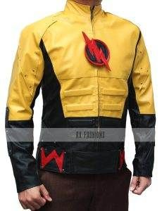 Axfashion presents Reverse Flash jacket  gives an attractive blod look