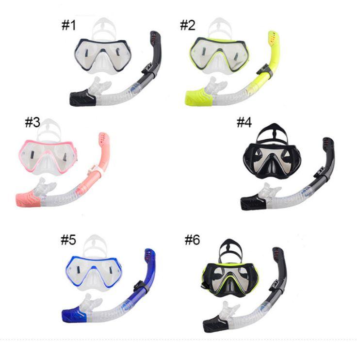 Erwachsenen Schnorchelmaske Schnorchelset Tauchmaske Taucherbrille + Schnorchel