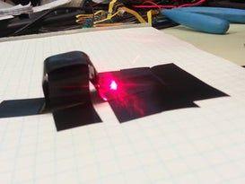 Easy Build Burning Laser für weniger als 20 US-Dollar   – lasers board