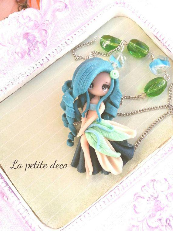 fairy necklace par lapetitedeco sur Etsy