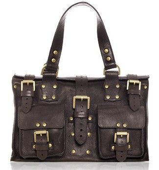 Mulberry Roxanne Chocolate Brown....wish I'd got one in brown (but love my black one!)