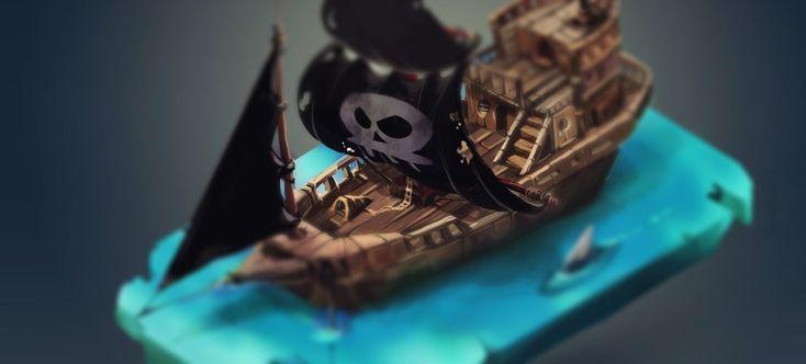 Treasure Island 22.0, Marina Goryacheva on ArtStation at https://www.artstation.com/artwork/treasure-island-22-0