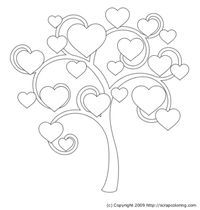 Bubble Tree coloring page