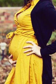 Vestido Amarillo para mamás en dulce espera!