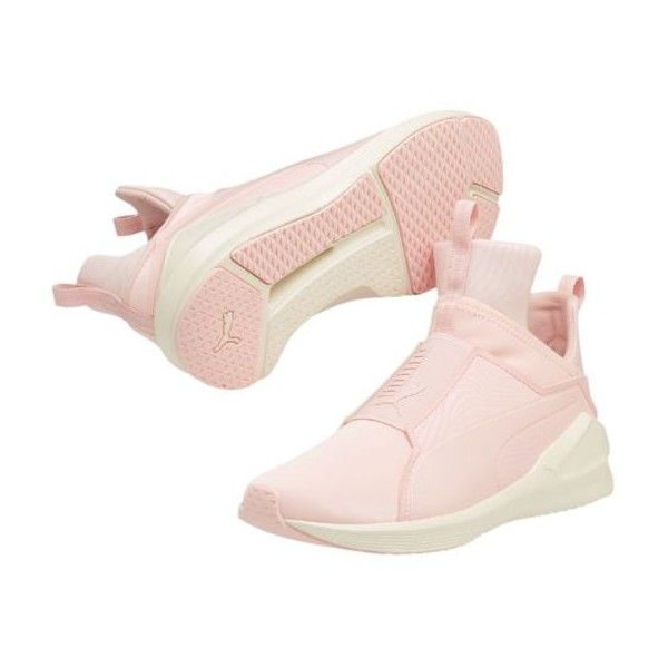 Fierce Muted Women's Training Shoes ($60) ❤ liked on Polyvore featuring shoes, athletic shoes, slip-on shoes, athletic training shoes, caged shoes, slip on shoes and mesh slip on shoes
