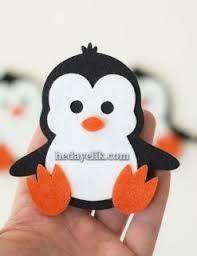 penguen keçe kitap ayracı ile ilgili görsel sonucu