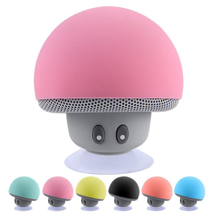 Aliexpress.com: Compre Cogumelo Mini Speaker sem fio Bluetooth Portátil Falante Estéreo Bluetooth Com Microfone para o Telefone Móvel Do Computador À Prova D' Água de confiança falante lâmpada fornecedores em ShenZhen Topping Tec Co.,Ltd