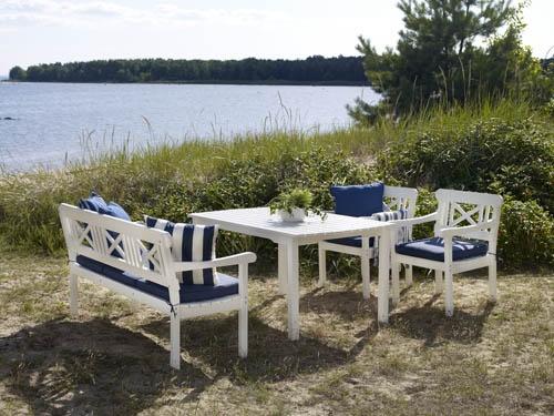 Grundsund – Klassisk svensk sommarmöbel, nu i svensktillverkad furu. Utemöbler, trädgårdsmöbler, Outdoor furniture.