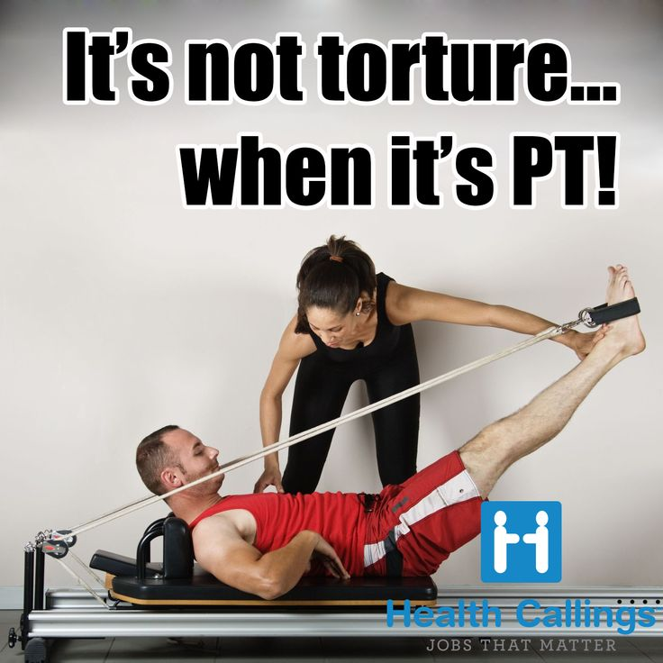Things Physical Therapists Say