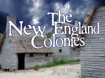 Visually engaging PowerPoint lesson on the New England Colonies! Great slides on everything from the Salem Witch Trials, Roger Williams, Anne Hutchinson, through the development of Massachusetts Bay Colony. Fantastic for many levels of students!