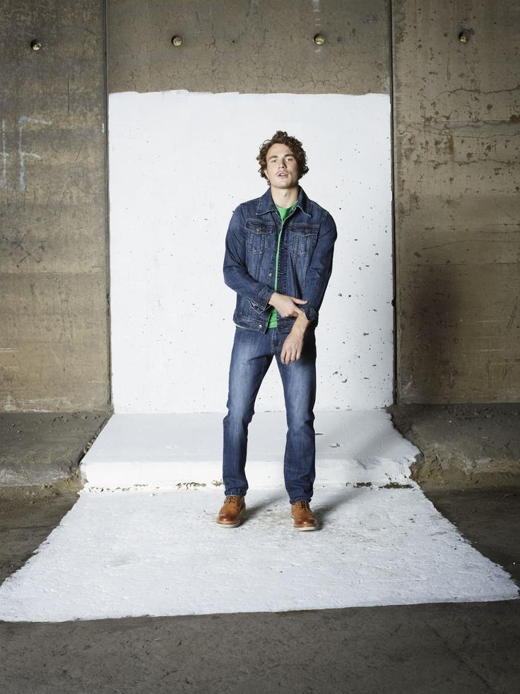 Top: Tom t-shirt/Fonzie denim jacket Bottom: Tony jeans