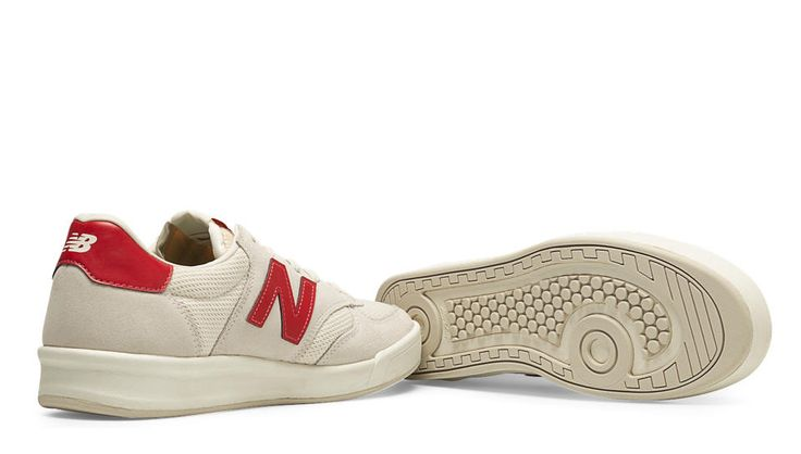 300 Vintage, Blanc avec Rouge