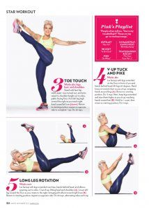 Singer Pink Workout & Diet: Getting A Rock Star Body PopWorkouts