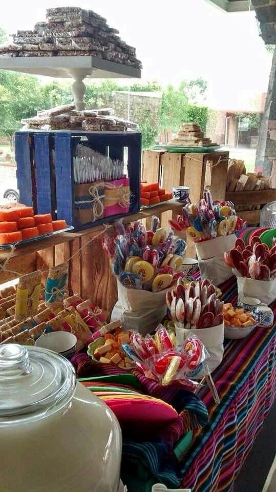 Loving this fiesta idea