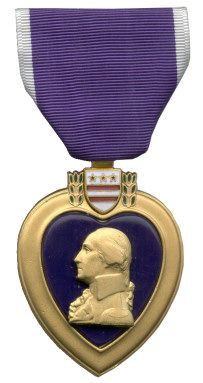 U.S. Purple Heart Medal....i love my wounded worrier