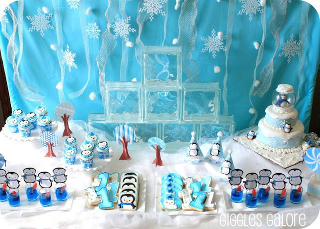 29 best Winter Birthday Party Ideas images on Pinterest Party kit