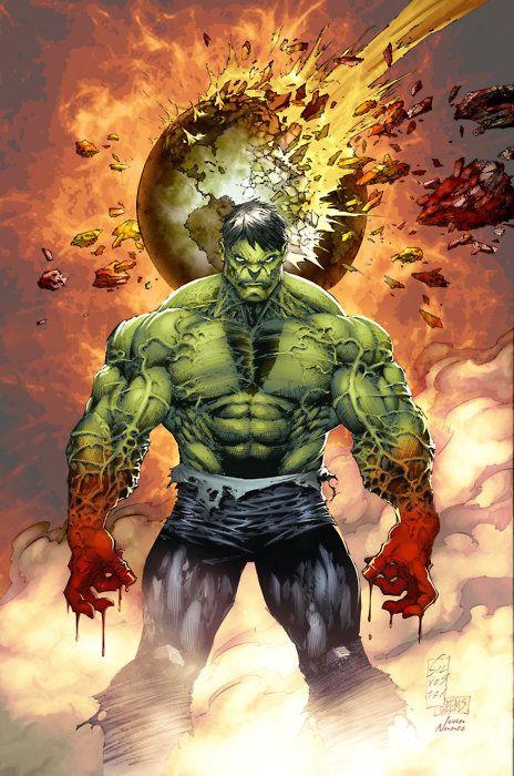 Hulk Cover Color BattleArtist    Inks byJoseph B. Weems    Flats byFernando Argüello    Colors by Ivan Nunes