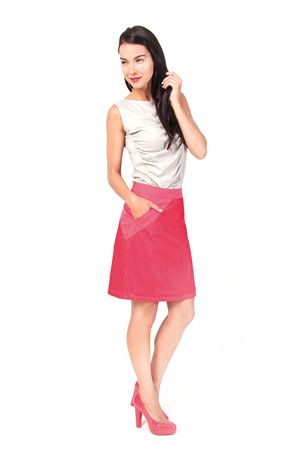 Skunkfunk Spring Summer 2014 collection Skirt: BAKENE T-Shirt: GOROZIKA