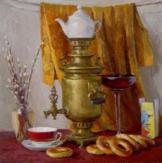From Russia with love- soul, traditions, cuisine - SAMOVAR!