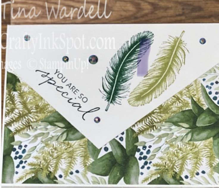 Pin on Stampin Up Forever Fern