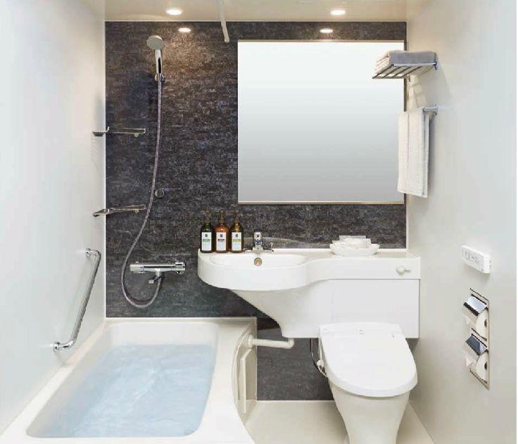 スペースを取らない3点ユニットバス ユニットバス ユニットバス リフォーム 浴室 インテリア