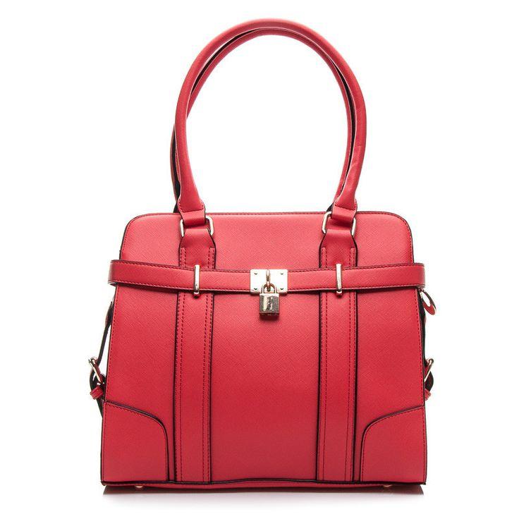 STYLOWA TOREBKA Z KŁÓDECZKĄ - odcienie czerwieni > CzasNaButy.pl > buty i torebki