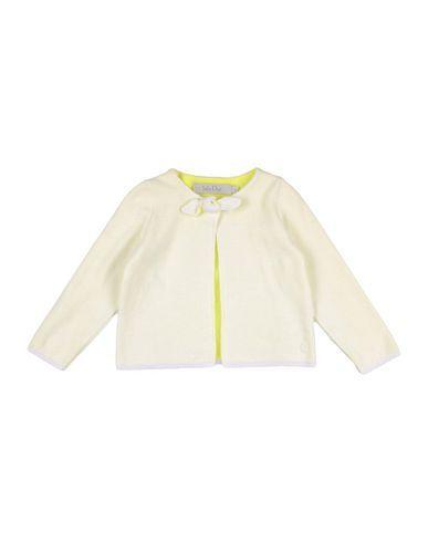BABY DIOR Girl's' Cardigan Light yellow 12 months